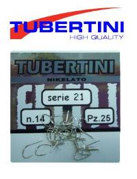 Tubertini Series 21 - Nikelato Hooks-Coarse Hooks-Tubertini-Irish Bait & Tackle