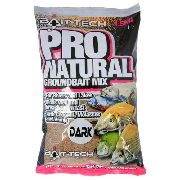 Pro Natural - Dark-Groundbait-Bait Tech-Irish Bait & Tackle