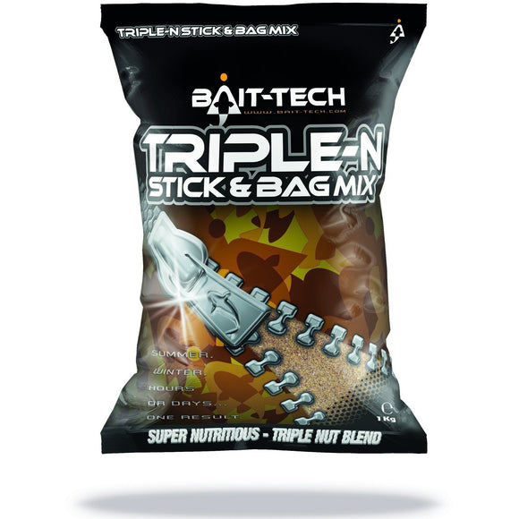 Triple-N Stick & Bag Mix-Liquid Additive-Bait Tech-Irish Bait & Tackle