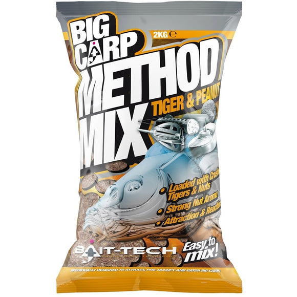 Big Carp Method Mix - Tiger & Peanut-Method Mix-Bait Tech-Irish Bait & Tackle