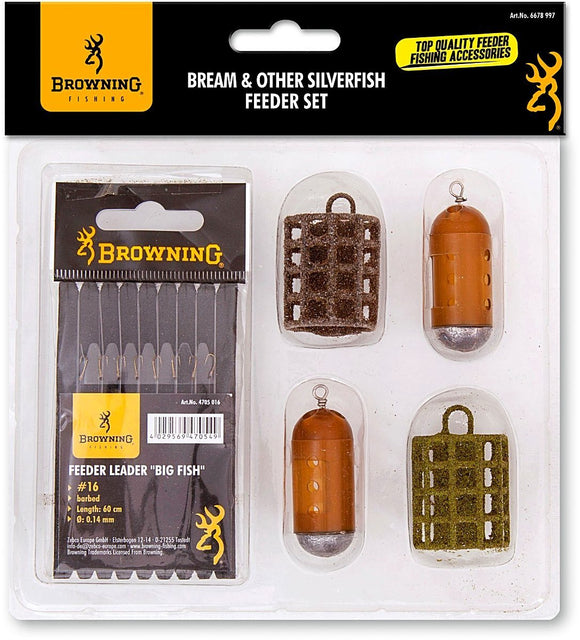Browning Feeder Set - Bream and Silverfish-Swimfeeder-Browning-Irish Bait & Tackle