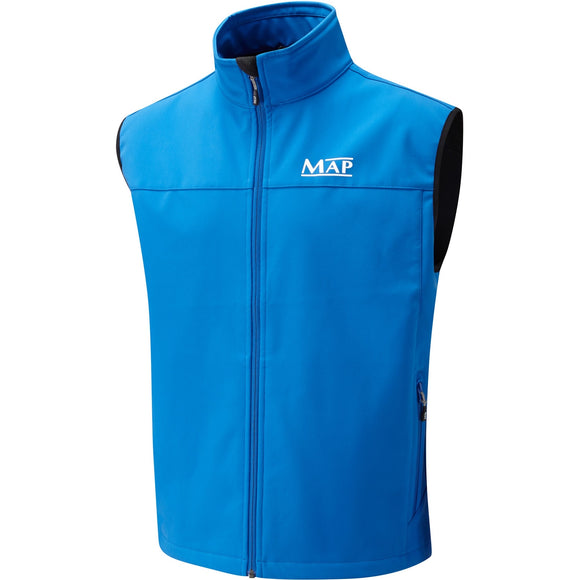 MAP Softshell Gilet Blue-Gilet-Irish Bait & Tackle Ltd-Large-Irish Bait & Tackle