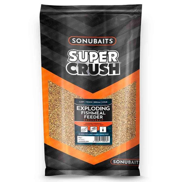 Sonubaits Super Crush Exploding Fishmeal Feeder Groundbait-Groundbait-Sonubait-Irish Bait & Tackle