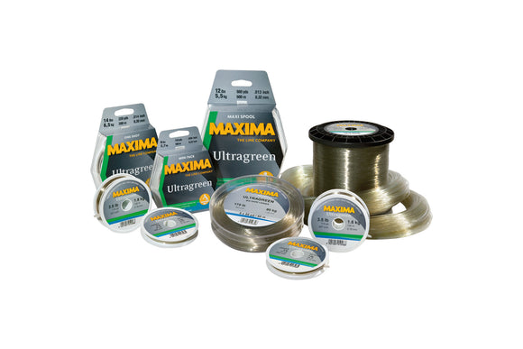 Maxima Ultragreen Fishing Line-Reel Line-Maxima-Irish Bait & Tackle