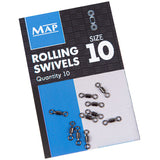 Map Rolling Swivels-Rolling swivels-Map-Size 10-Irish Bait & Tackle