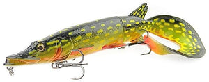 Savage Gear 3D Hybrid Pike-Soft Lures-Savage Gear-17cm - 45gr (02 - Yellow Pike) Slow sinking-Irish Bait & Tackle