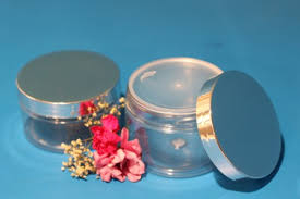 100ml Clear Plastic Jar with Matte Silver Lid - Stock Your Pantry