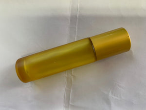 10ml Frosted Colour Glass Steel Ball Roller Bottle Same Colour Lid - Stock Your Pantry