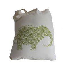 Apple Green Duck Flat Calico Sack (Animal) - Stock Your Pantry