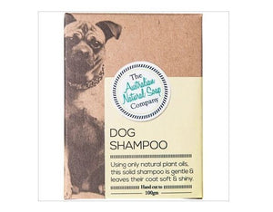 Australian Natural Soap Co. - Dog Shampoo Bar 100g - Stock Your Pantry