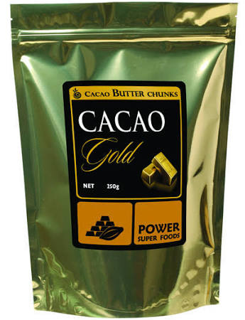 Power Super Foods Cacao Butter Chunks 250g - Stock Your Pantry