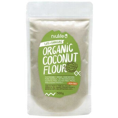 Niulife Coconut Flour 500g - Stock Your Pantry