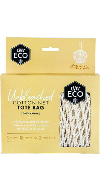 Ever Eco Cotton Net Tote - Long Handle - Stock Your Pantry