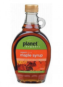 Planet Organic Maple Syrup 250ml - Stock Your Pantry
