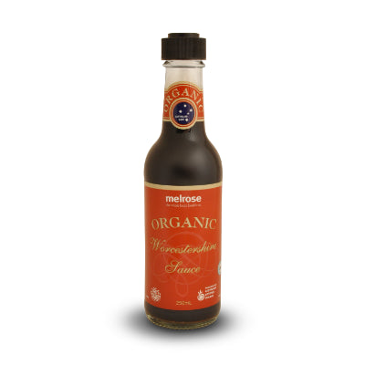 Melrose Organic Worcestershire Sauce 250ml - Stock Your Pantry