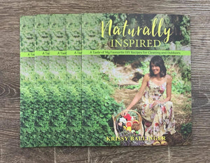 Naturally Inspired - Cleaning and Outdoors Booklet by Krissy Ballinger - Stock Your Pantry