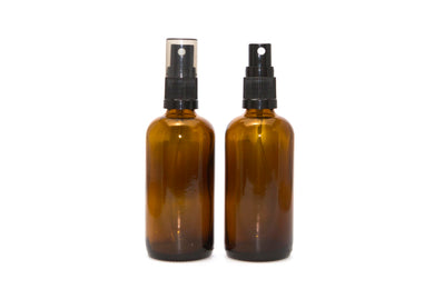 100ml Amber Glass Bottle Spray Top - Stock Your Pantry