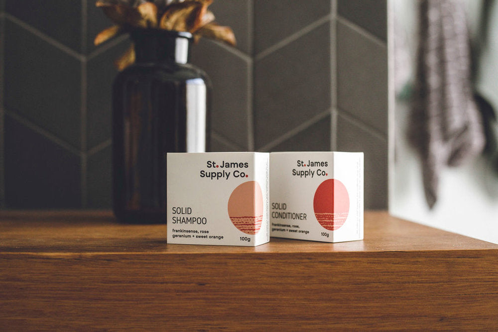 St James Supply Co - Conditioner Bar 60g - The Frankie - Stock Your Pantry