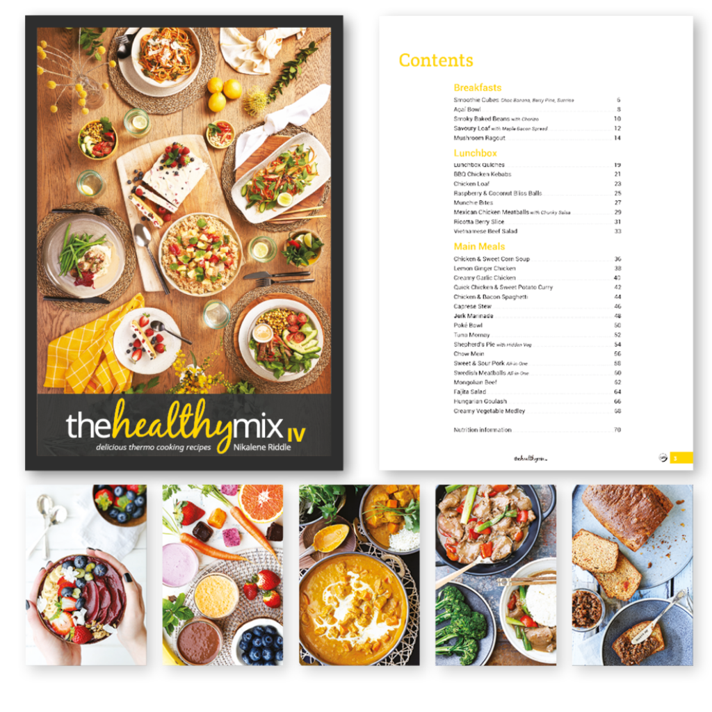 The Healthy Mix IV by Nikalene Riddle - Stock Your Pantry