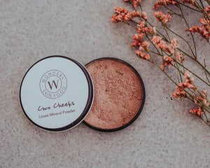Wondery Skin Food - Coco Cheeks Loose Mineral Powder 20g - Stock Your Pantry