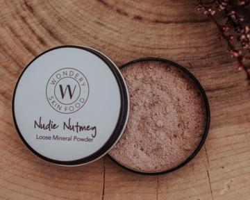 Wondery Skin Food - Nudie Nutmeg Loose Mineral Powder 20g - Stock Your Pantry