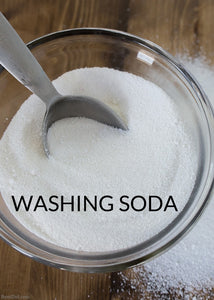 Washing Soda (Sodium Carbonate) - Stock Your Pantry