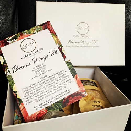 Beeswax Wraps Kit - Stock Your Pantry