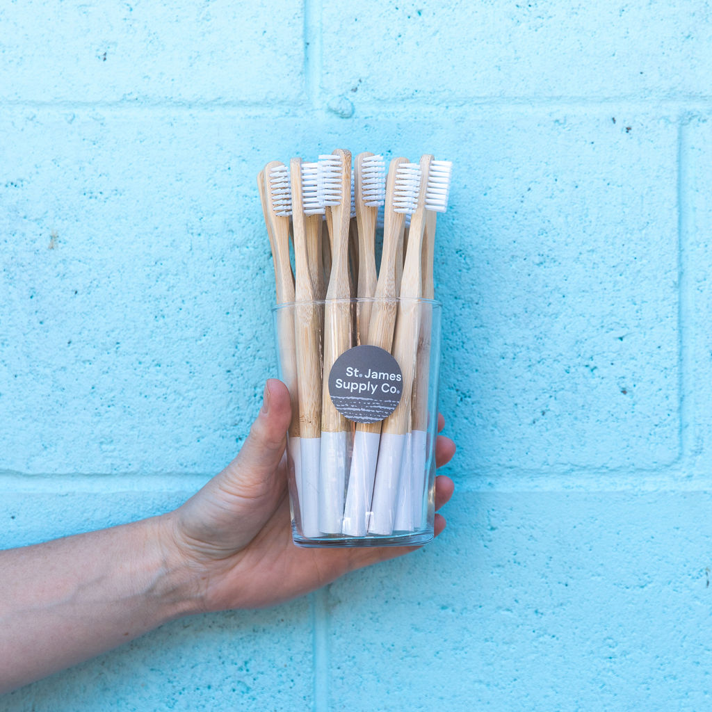 St James Supply Co - Bamboo Toothbrush - Stock Your Pantry