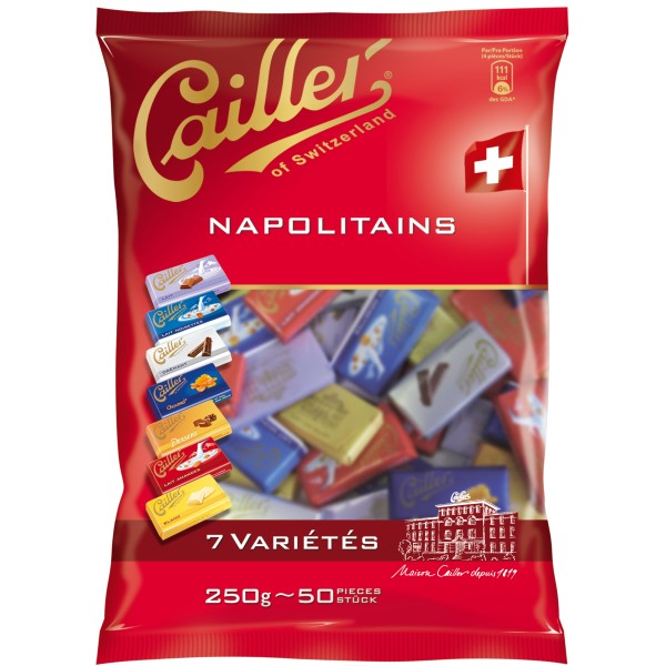 Cailler Mini Chocolates (Napolitains)