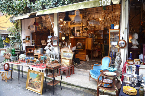The Paris Flea Market of Saint Ouen