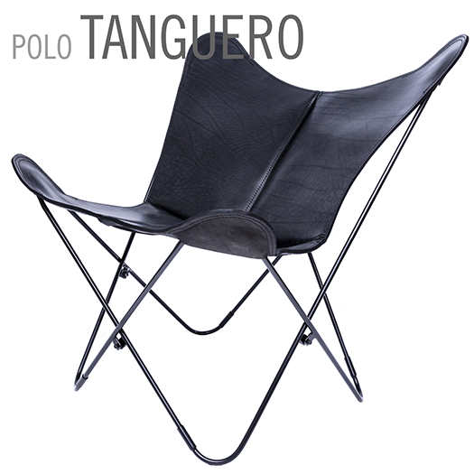 Polo Tanguero Butterfly Leather Chair
