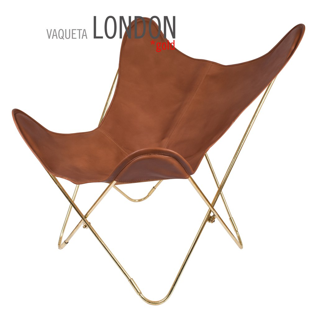 Vaqueta London Butterfly Leather Chair