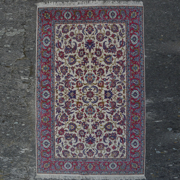 Carpet With Fantasy flower Motives - $340