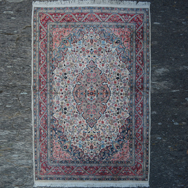 Carpet With Flower Motives - $475