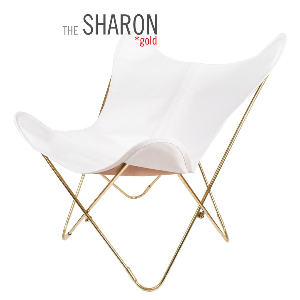 Vaqueta Sharon Butterfly Leather Chair