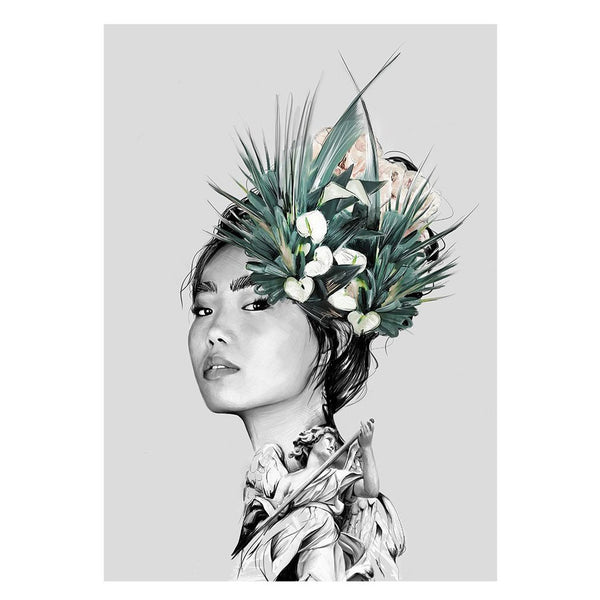 Hana Art Print by Linn Wold