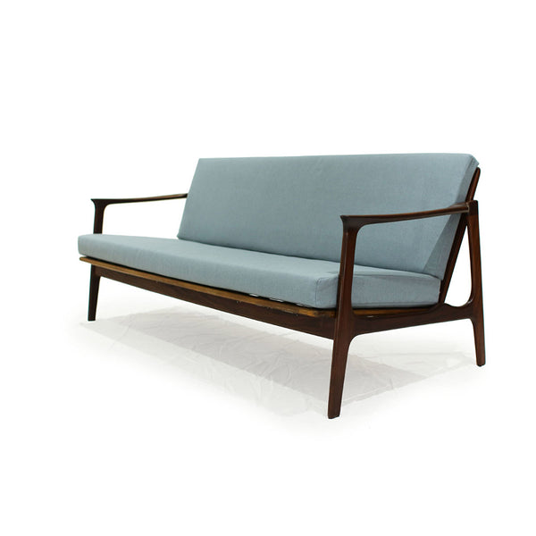 Teak Sofa by R. Huber 1960's