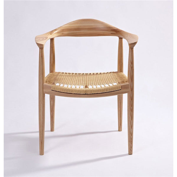 Reproduction PP501 Kennedy Chair The Round Chair - Paper Cord Seat