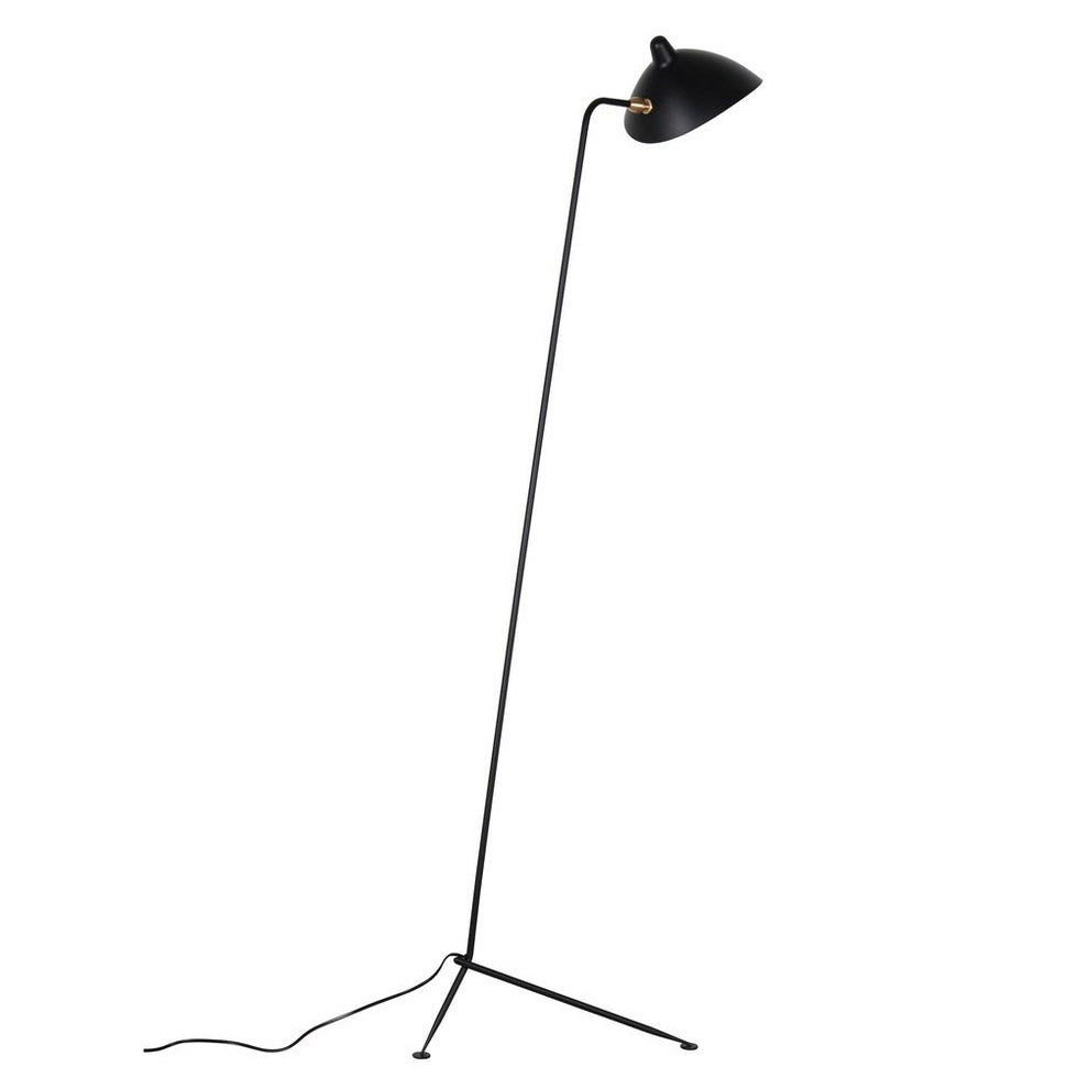 Reproduction of Mouille One-Arm Floor Lamp
