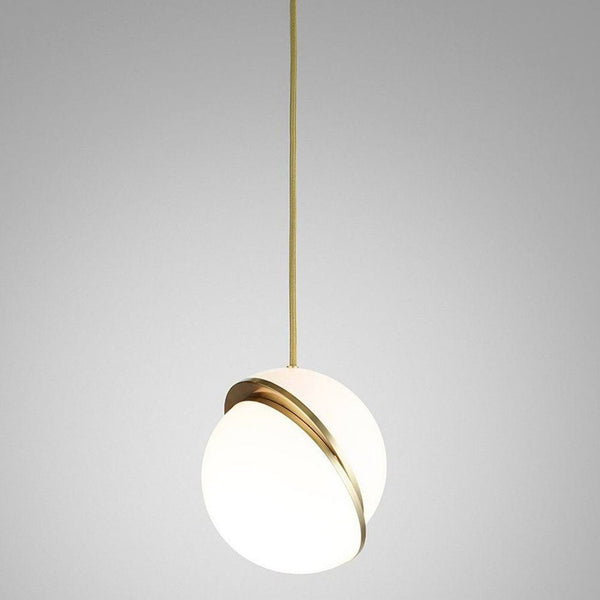 Reproduction of Crescent Pendant Light