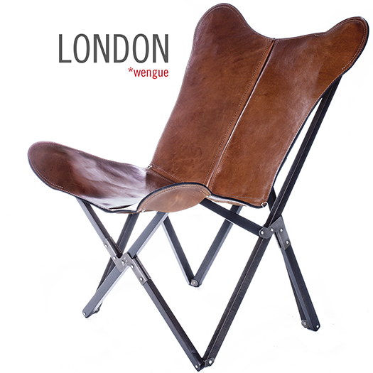 Tripolina Polo London Leather Chair