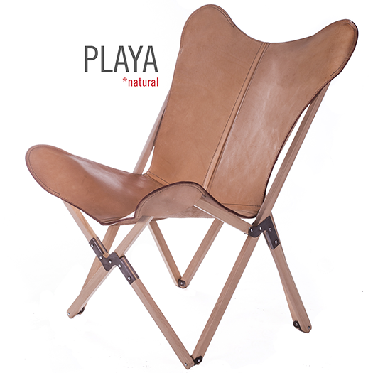 Tripolina Polo Playa Leather Chair