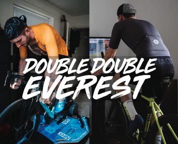 Francis Cade Completes Double Everest on Zwift to help raise more than £16,000 for the NHS
