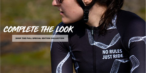 women's no rules cycling kit set