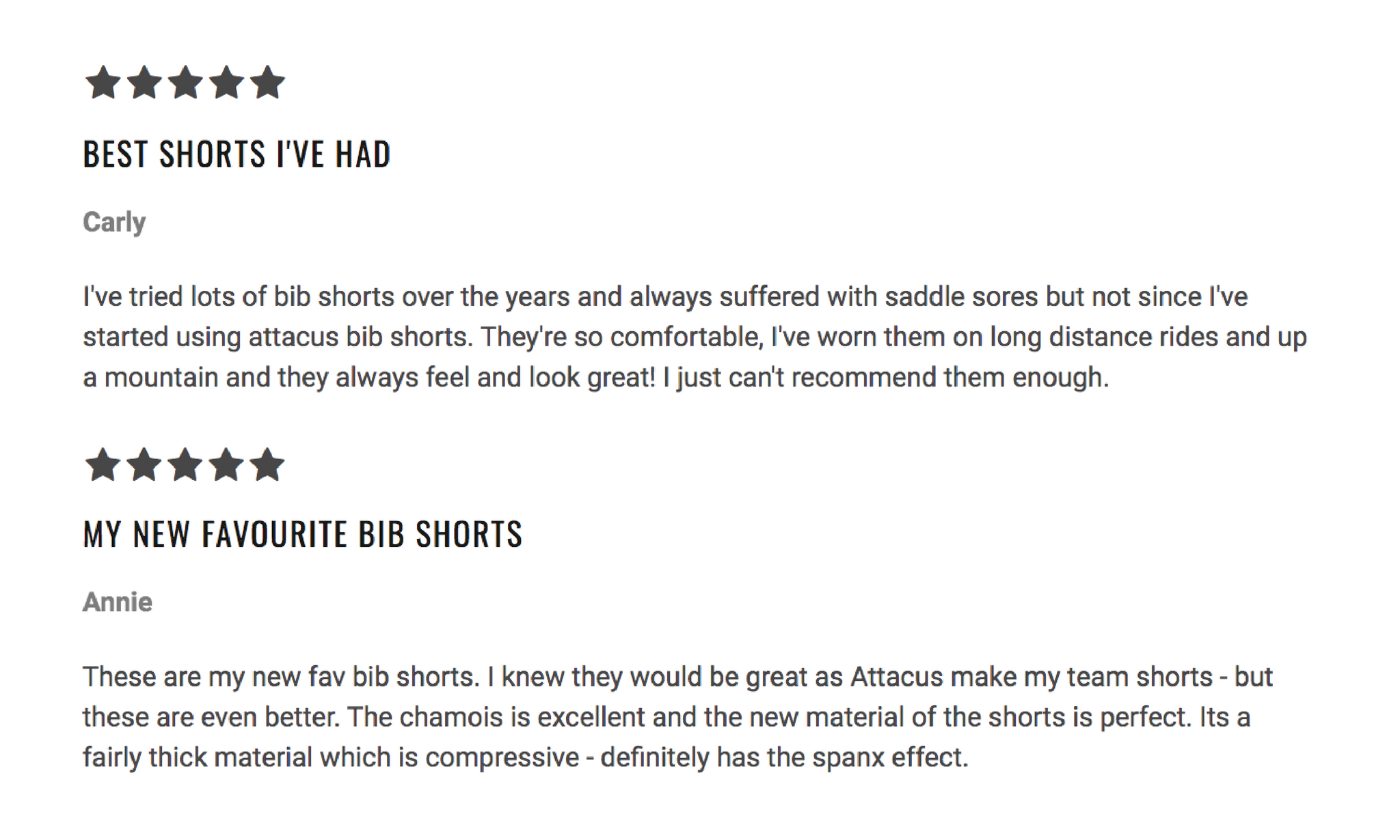 Attacus women's bib shorts review