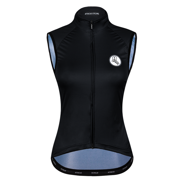 Black Foundation Windproof Vest
