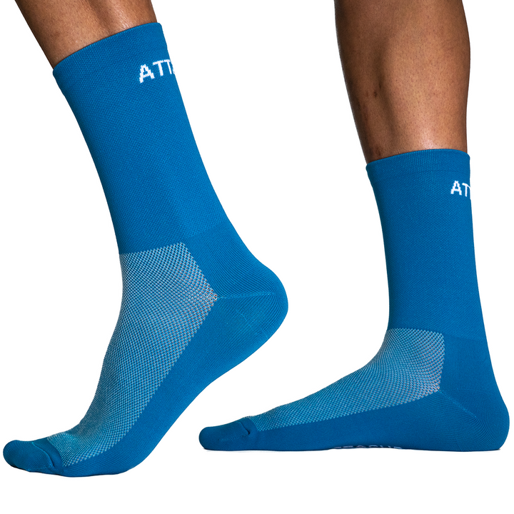 Blue Premium Cycling Socks