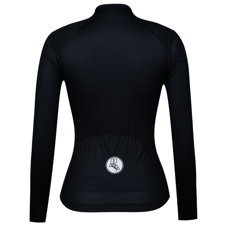 Black Long Sleeve Foundation Jersey
