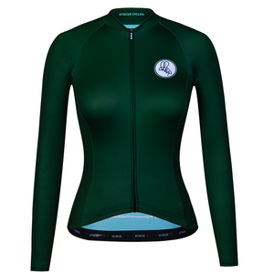 Green Long Sleeve Foundation Jersey