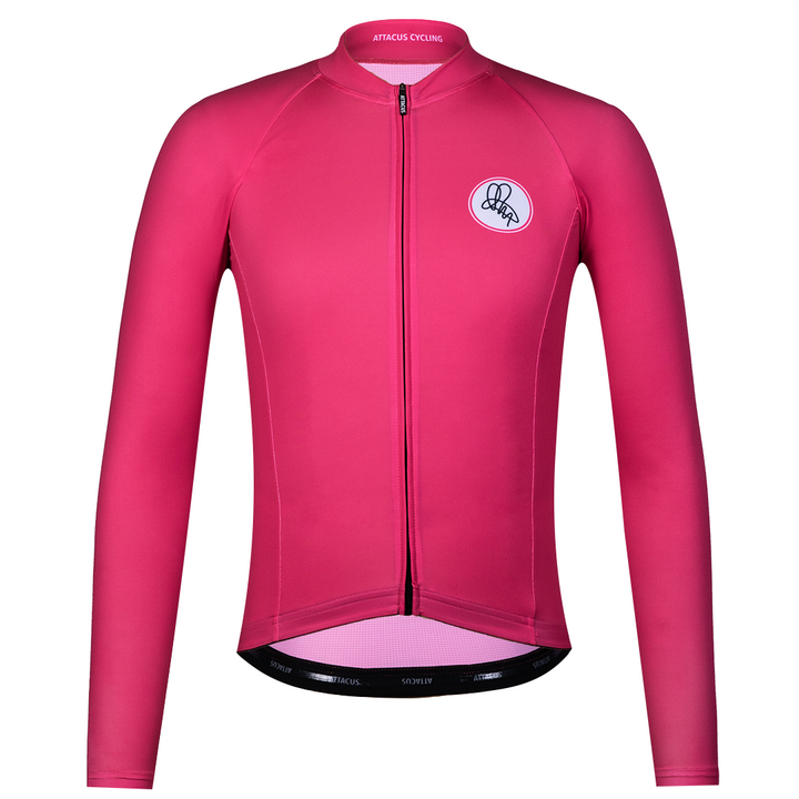 Pink Long Sleeve Foundation Jersey